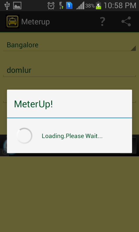 MeterUp! auto fare cab taxi - screenshot