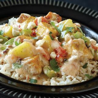 Pineapple Curry Tofu