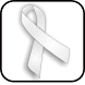 Lung Cancer Ribbon doo-dad