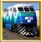 Super Modern Train Puzzle