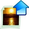 Flicker uploader pro logo