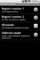 Screenshot of M-Parking Estonia