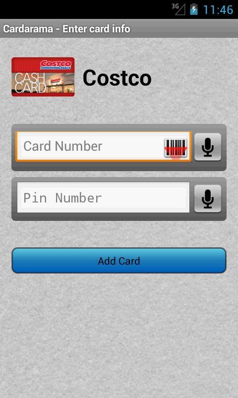Cardarama - Gift Card Balance - screenshot