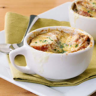 Three Cheese French Onion Soup