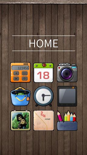 Home Hola Launcher Theme
