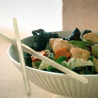 Spicy Stir-Fried Chicken and Vegetables.