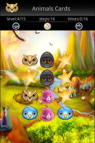 Animals Memory Cards Game - screenshot