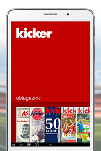 kicker eMagazine- screenshot thumbnail