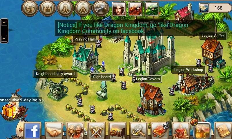 Dragon Kingdom (en) - screenshot