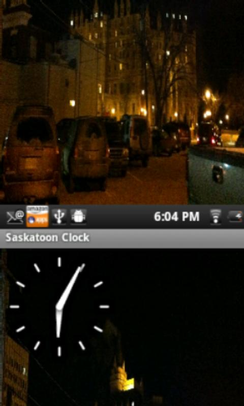 Saskatoon Clock - screenshot