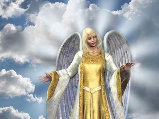 天使の壁紙