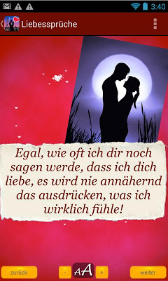Liebe - Grüße, Zitate, Sprüche - screenshot