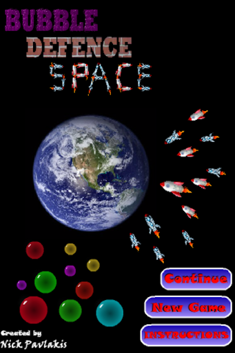Bubble Defence Space