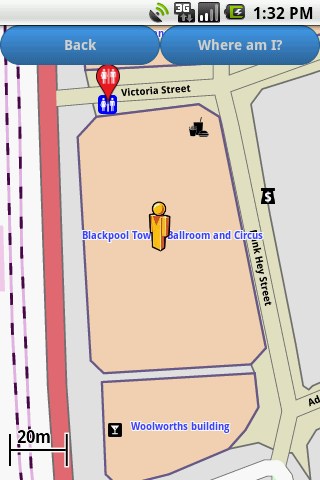 Blackpool Amenities Map free