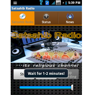Satsahib Radio- screenshot