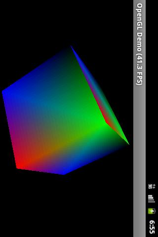 OpenGL ES 1.0 Demo- screenshot