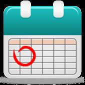 丸印カレンダー