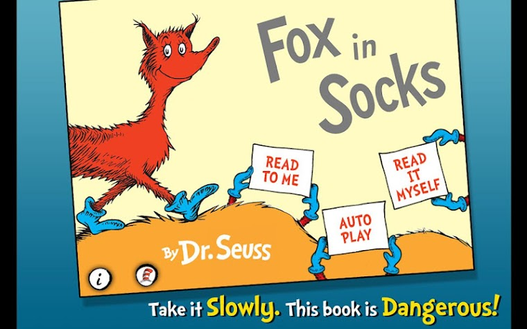 Fox in Socks - Dr. Seuss Screenshot