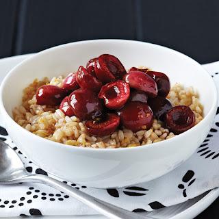 Cherry Breakfast Rice Bowls