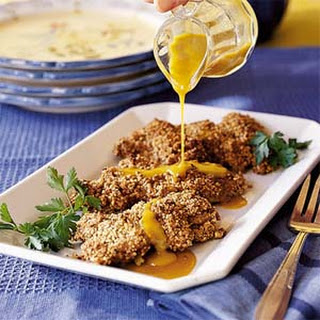 Honey-Pecan Chicken Thighs.