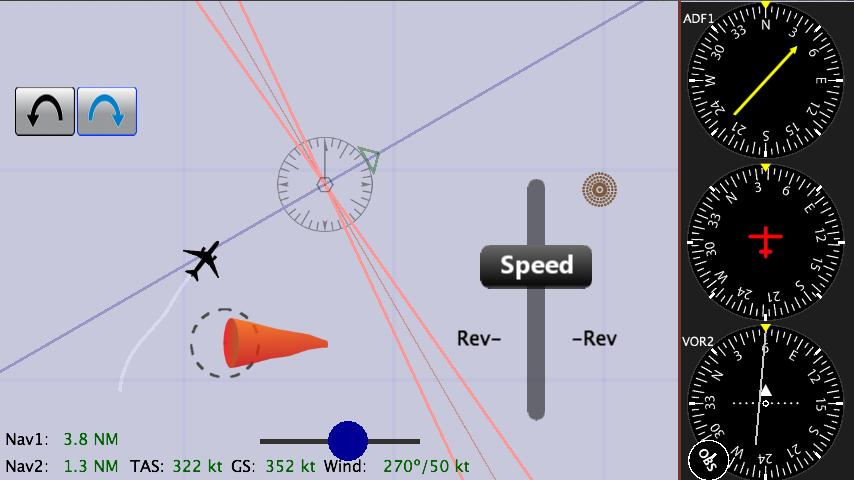 Nav Trainer Pro for Pilots - screenshot