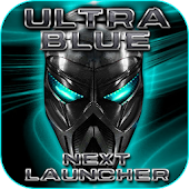 Ultra Blue Next Launcher 3D