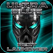 Ultra Blue Next Launcher 3D