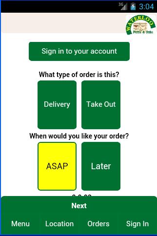 Waterloo Pizza Subs