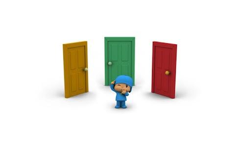 玩免費教育APP 下載Pocoyo: A thousand doors app不用錢 硬是要APP