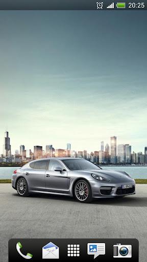 Porsche Panamera Live Wallpape
