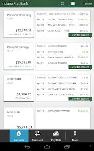 Indiana First Bank - screenshot thumbnail