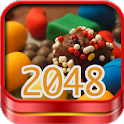 2048 Candy match Puzzle Game icon