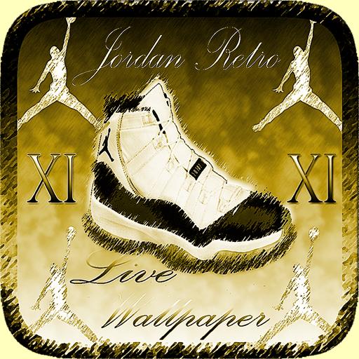 Jordan Retro XI Live Wallpaper 娛樂 App LOGO-APP試玩