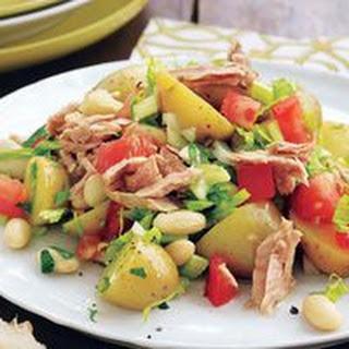 White Bean, Tuna and Potato Salad
