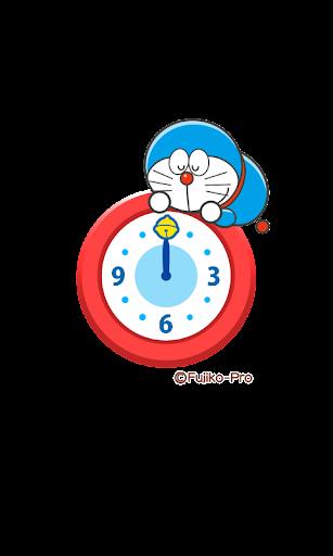 ドラえもん アナログ時計ウィジェット「ドラえもん登場!」