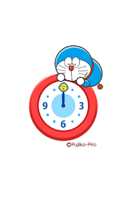 玩個人化App|ドラえもん アナログ時計ウィジェット「ドラえもん登場!」免費|APP試玩