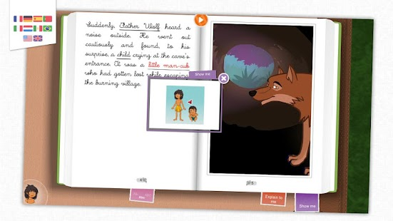 The Jungle Book - Kids' tale- screenshot thumbnail