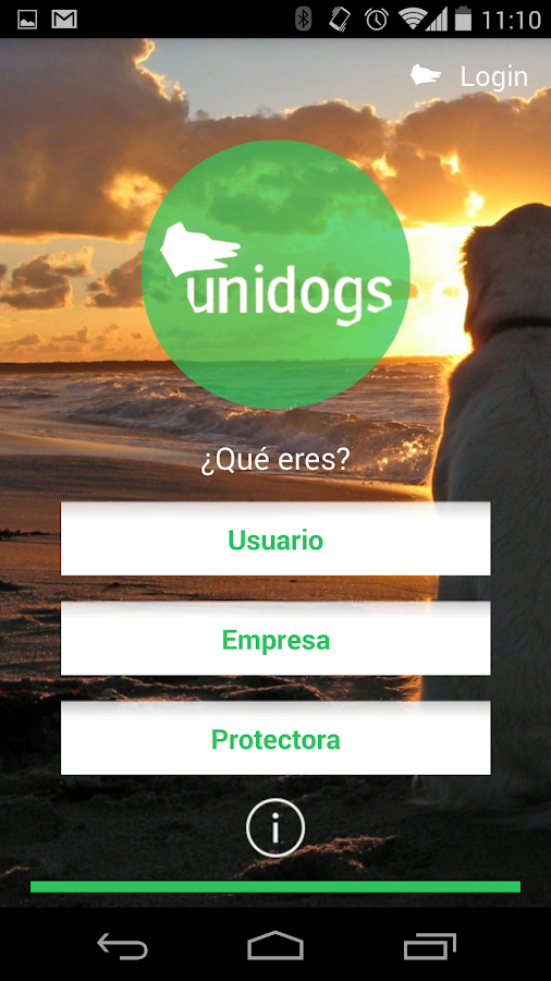 Unidogs App- screenshot
