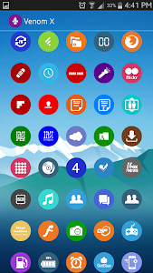 Venomx Lollipop Icon Pack v4.0.1