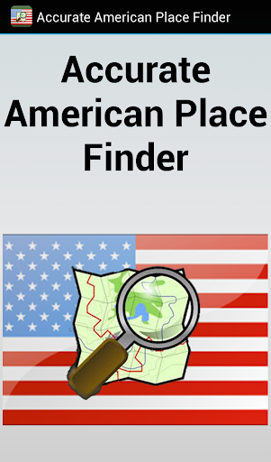 Accurate American Place Finder