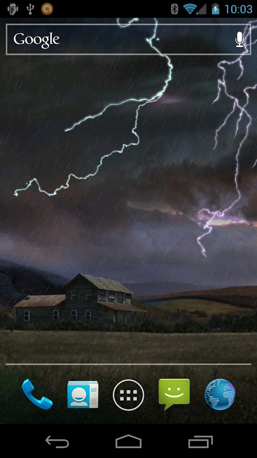 Farm in Thunderstorm Free - screenshot