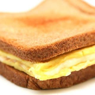Gluten Free Cheesy Egg Sandwiches