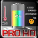 Battery Pro Live Wallpaper. icon