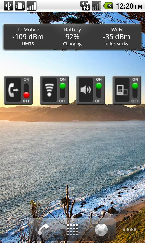 WiFi Toggle Widget - screenshot