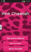 Screenshot of Pink Cheetah GO Keyboard
