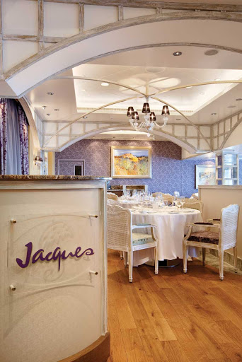 Oceania_Jacques - Oceania Riviera's Jacques is the ideal dining setting with exceptional service and memorable food.
