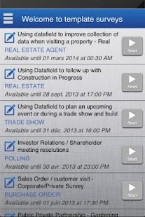 Datafield, Forms and Surveys- screenshot thumbnail