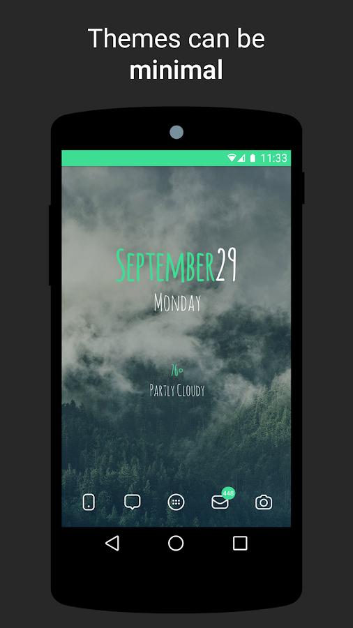 Themer: Launcher, HD Wallpaper- screenshot