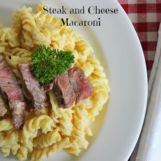 Steak and Cheese Macaroni.