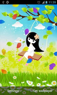 The Swing Live Wallpaper- screenshot thumbnail